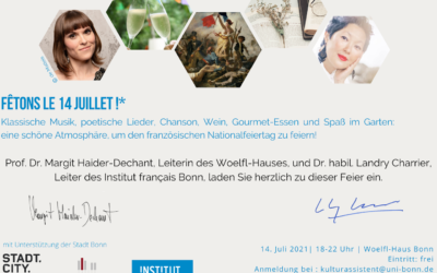 Mi 14. Juli 2021 Französischer Nationalfeiertag | Stream-Konzert