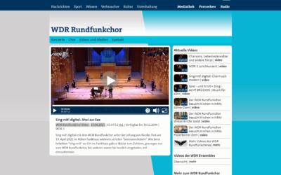 WDR Rundfunkchor 23.04.2021