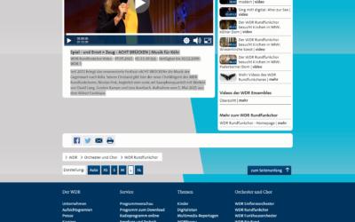 07.05.2021 WDR Rundfunkchor Video