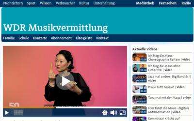 WDR Musikvermittlung  01.07.2021